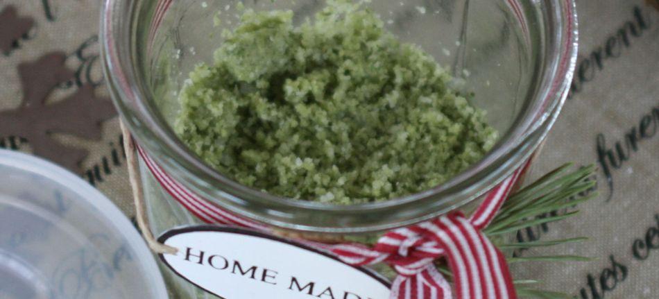 hjemmelavet grannåle salt til jul