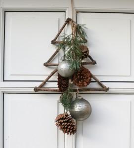 Dekorativ koglebundt - Julekalender d. 12 december
