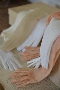 gamle handsker
