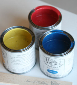 vintage paint farver