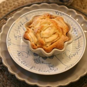 brædepandekage med æbler