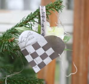 DIY: Lav de fineste flettede julehjerter