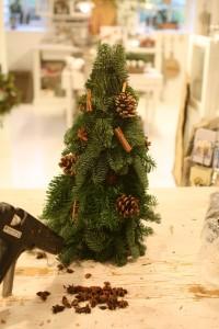 juletræ med gran