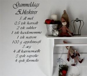 Pynt med julewallstickers