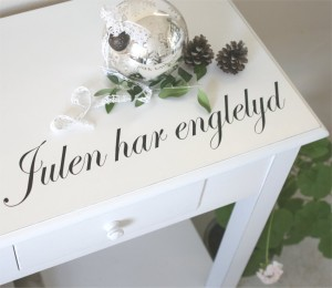 wallstickers til jul