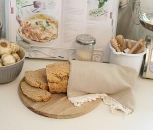 lækkert og svampet brød