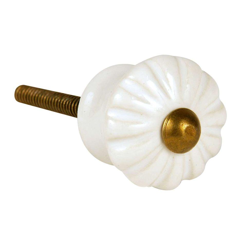 Keramik greb i hvid