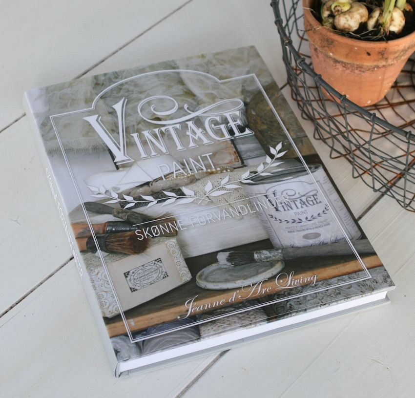 Bog, Vintage Paint - Skønne forvandlinger