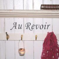Au Revoir - På gensyn wallsticker