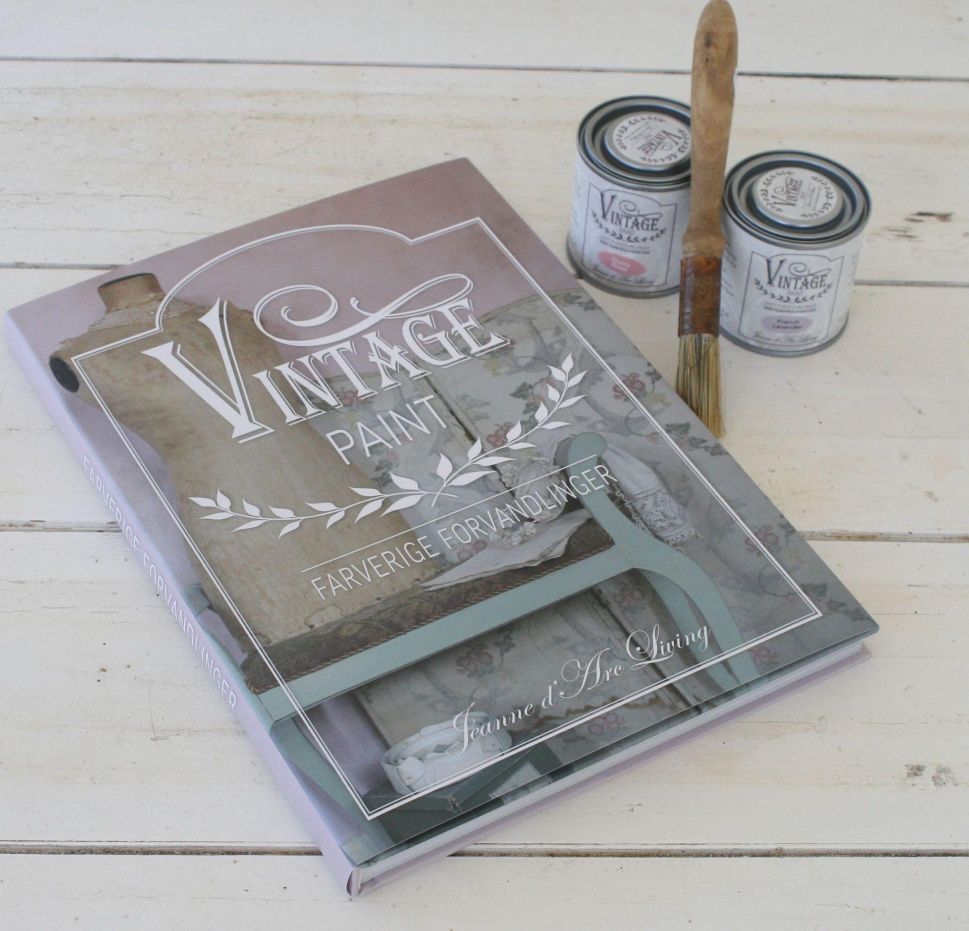 Bog, Vintage Paint - Farverige forvandlinger