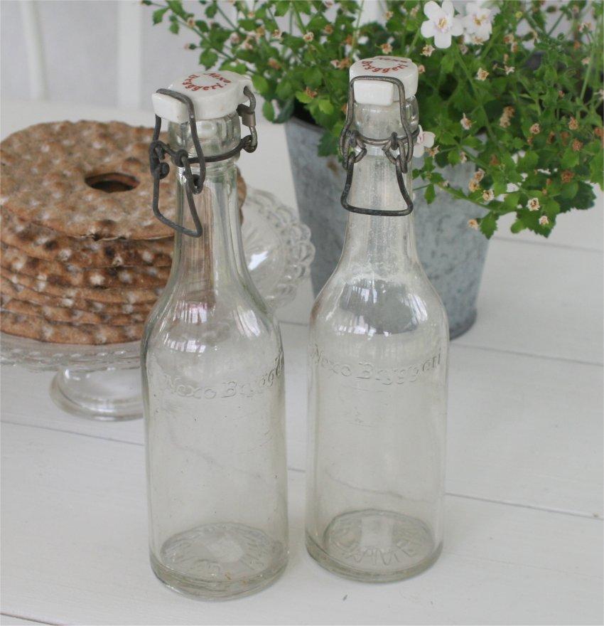 Gamle sodavandsflasker