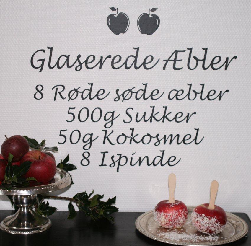 Glaserede æbler