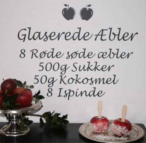 Glaserede-æbler