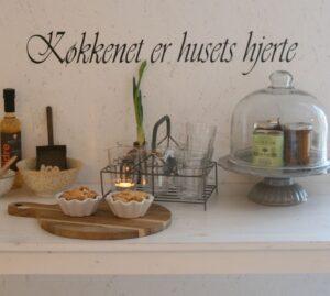 Køkkenet er husets hjerte
