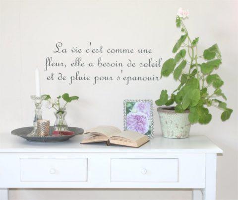 La-vie-c´est-wallsticker
