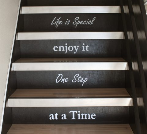 Life-is-speciel-enjoy-it-one-step-at-a-time