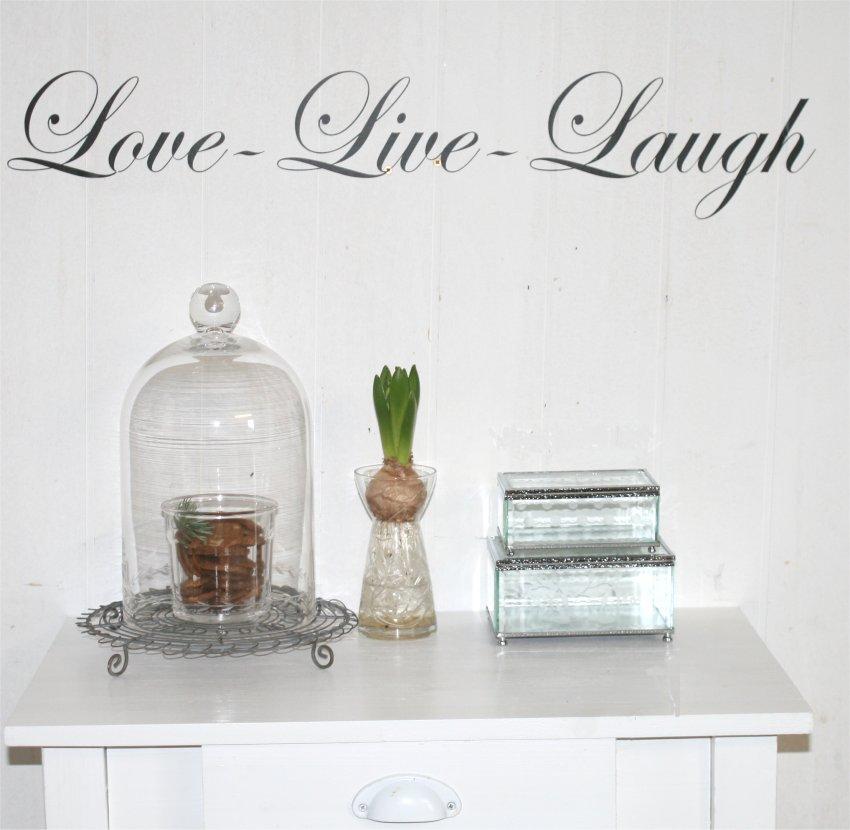 Wallsticker Love - Live - Laugh