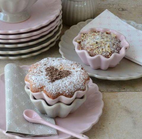 Muffinform-i-lyserød