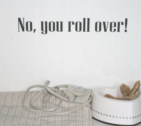 No-you-roll-over