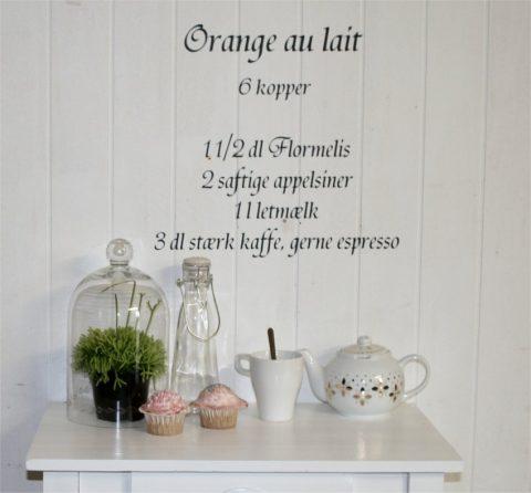 Orange-au-lait
