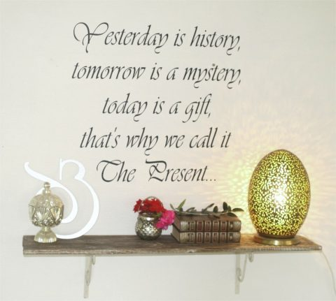 Yesterday-is-history-the-present