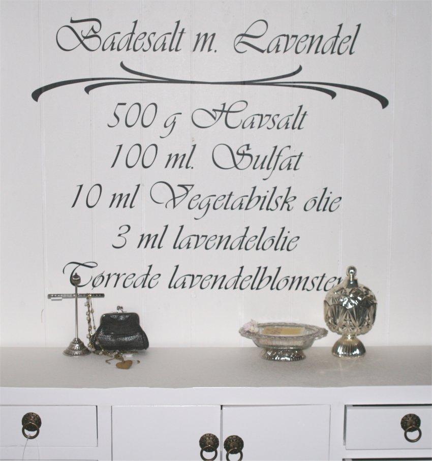 Badesalt m. Lavendel