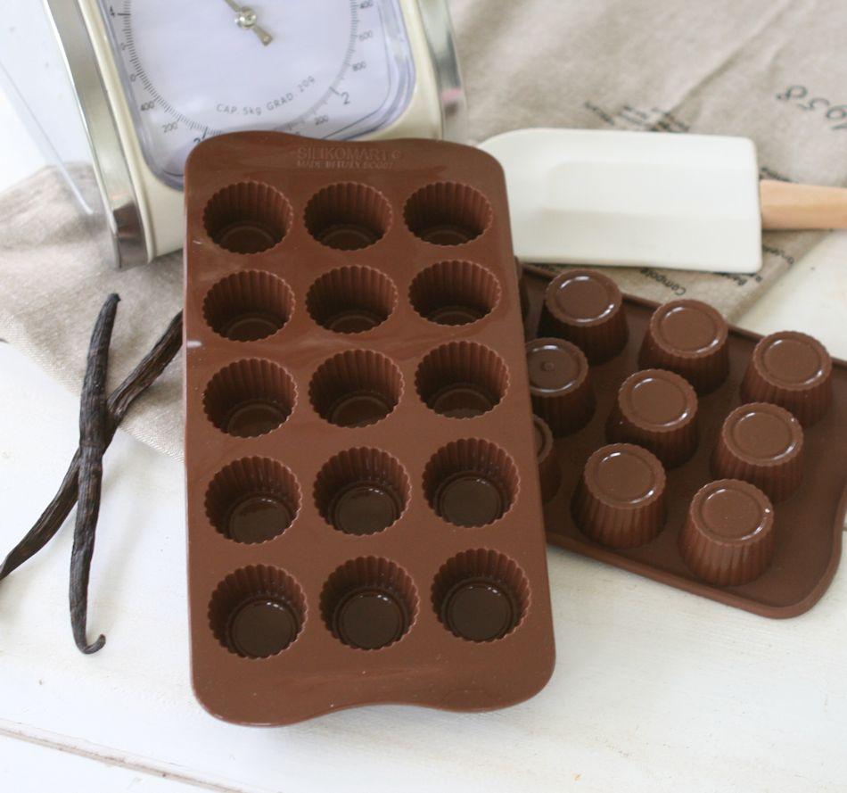 Chokoladeform praline