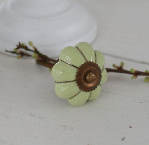 blomst-porcelænsgreb