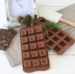 Chokoladeform cubo