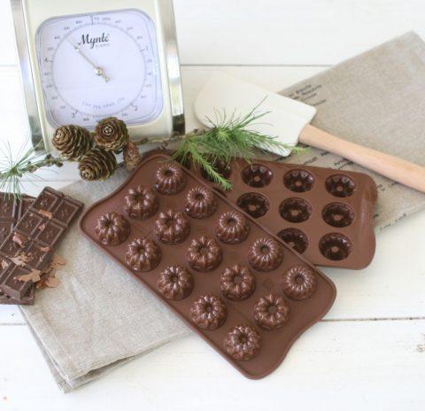 chokoladeform-kranse