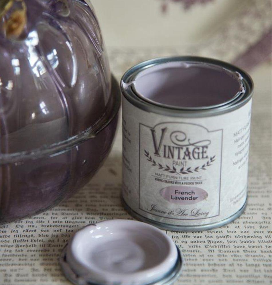 Kalkmaling French lavender 100 ml.