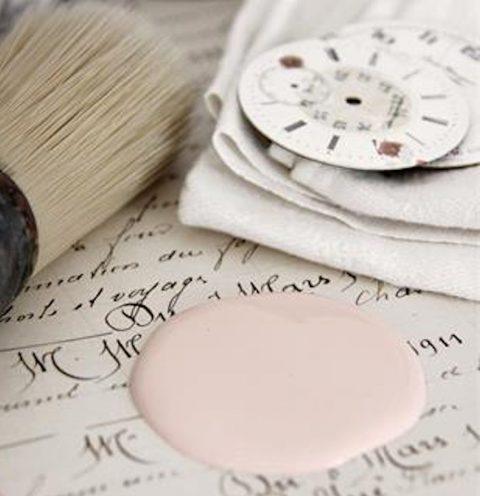 lyserød-maling