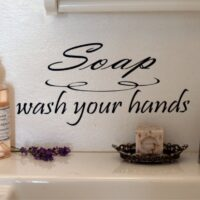 Soap, wash your hands