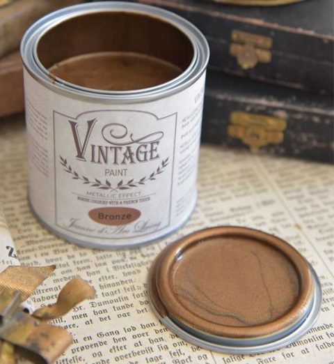 Vintage Paint Bronze metal 200 ml.