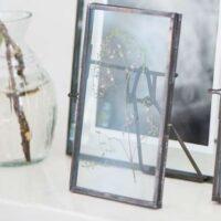 Fotoramme med glas - lille