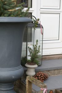 lanterne ved døren