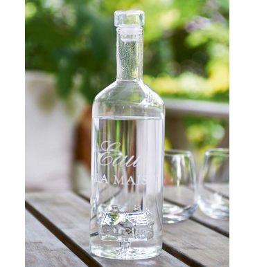 Glasflaske Eau de la Maison