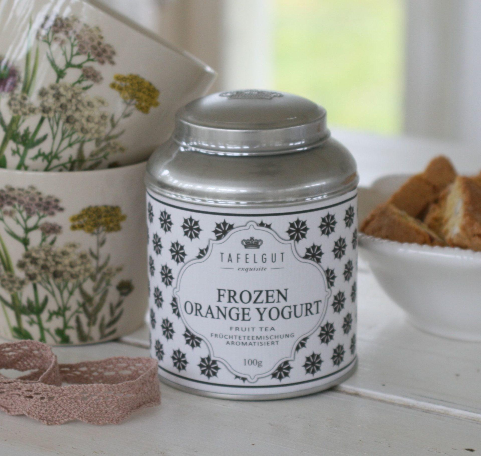 Tafelgut - Frozen orange yogurt tea