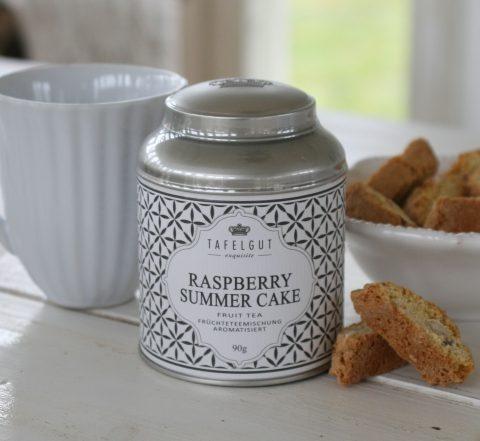 Tafelgut - Raspberry summer cake tea