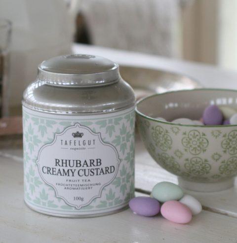 Tafelgut - Rhubarb creamy custard tea