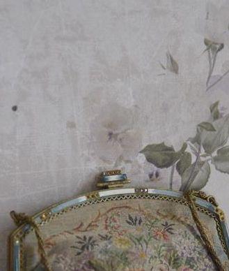 Tapet med vintage roser