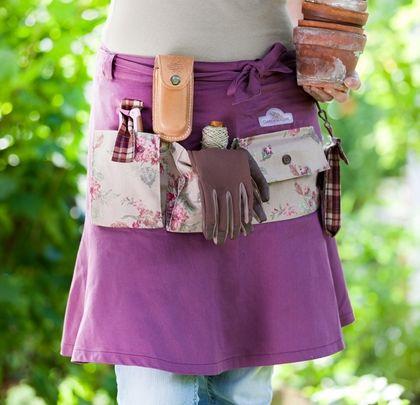GardenGirl slå-om-nederdel med lommer