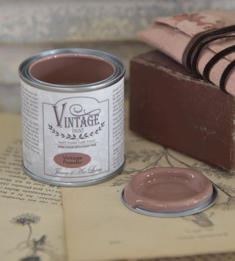 Kalkmaling Vintage powder 100 ml.