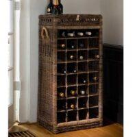 Vinholder - Rustic Rattan Wine Rack