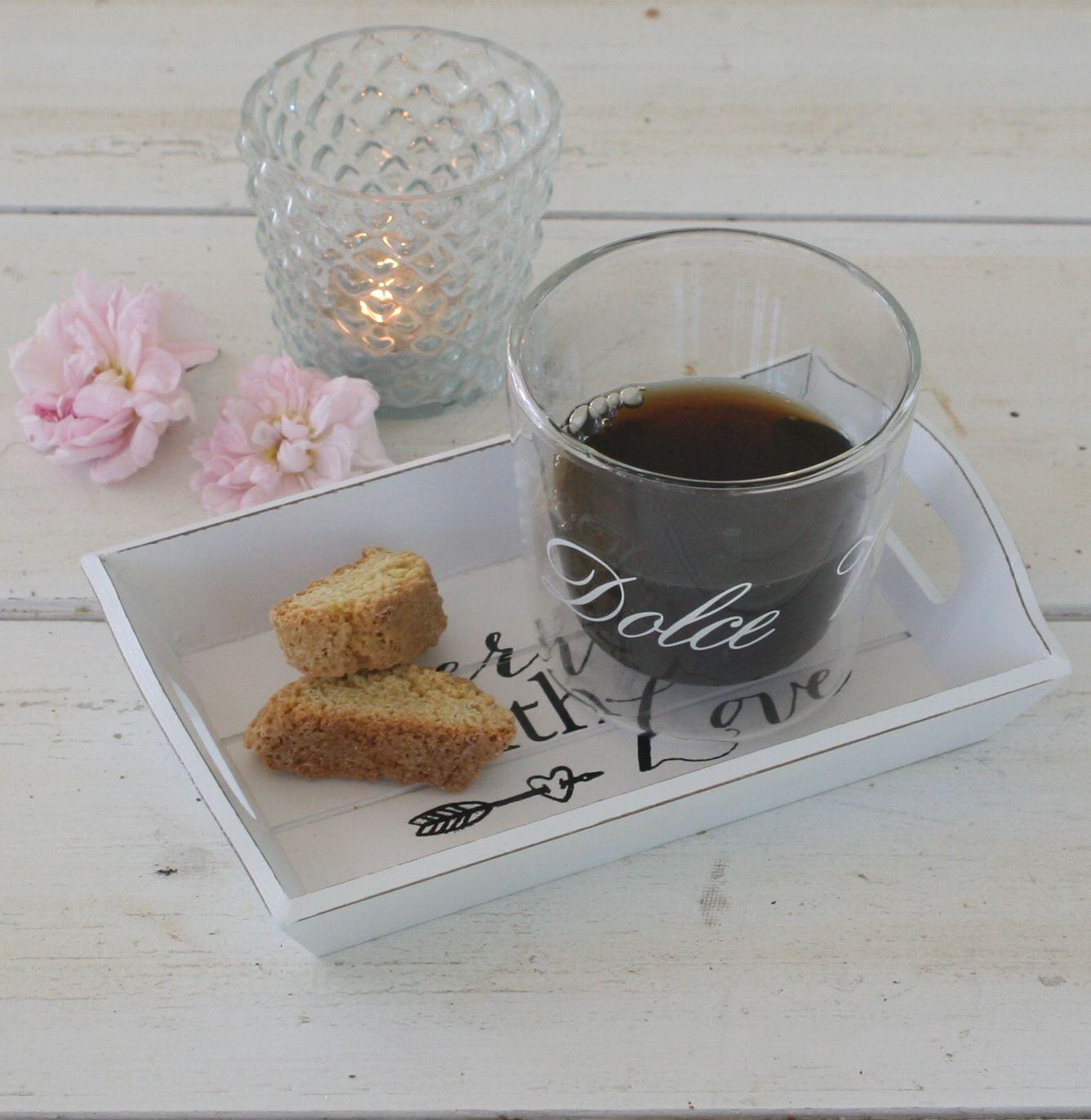 Lille serveringsbakke - Served with Love Tray