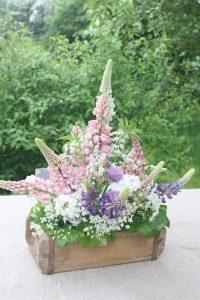 sådan laver du en blomsterdekoration