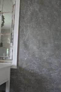 male pudset væg