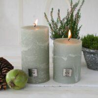 Rustik bloklys – pine green, lille