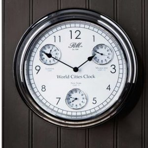 Ur - World cities clock