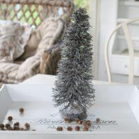 Juletræ i sølv, str M